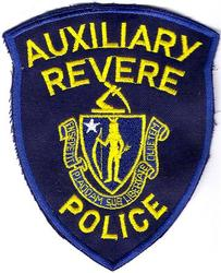 Revere Aux. Police Patch (blue twill)(MA)