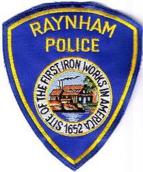 Raynham 1652 Police Patch (MA)