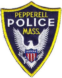 Pepperell Police Patch (twill)(MA)