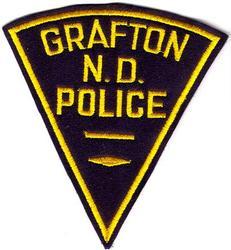 Grafton Police Patch (felt)(ND)