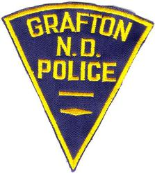 Grafton Police Patch (twill)(ND)