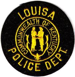 Louisa Police Dept. Patch (felt)(KY)