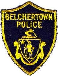 Belchertown Police Patch (small/twill)(MA)