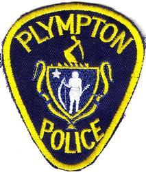 Plympton Police Patch (twill)(MA)