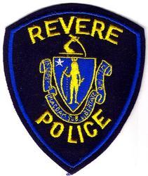 Revere Police Patch (felt, cut edge)(MA)
