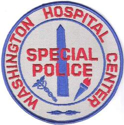 Washington Hospital Center Special Police Patch (DC)