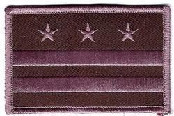 Washington DC. Subdued Flag Patch(DC)