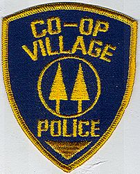Co-op Village Police Patch (NY)