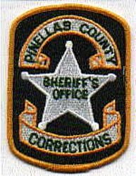 Sheriff: FL, Pinellas Co. Sheriffs Office Corrections Patch