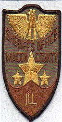 Sheriff: IL, Macon Co. Sheriffs Office Patch