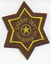 Sheriff: AL, Tuscaloosa Co. Sheriffs Dept. Patch