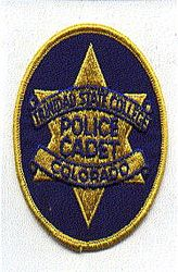 School: CO, Trinidad State College Police Cadet Patch