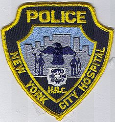 New York City Hospital Police Patch (NY)