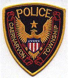 Caernarvon Twp. Police Patch (PA)