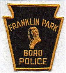 Franklin Park Boro Police Patch (gold letters/edge) (PA)