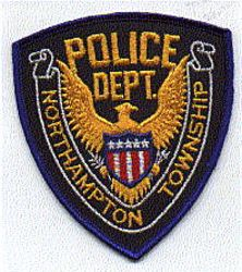 Northampton Twp. Police Patch (blue edge) (PA)