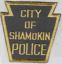 Shamokin Police Patch (PA)