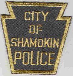 Shamokin Police Patch (PA)