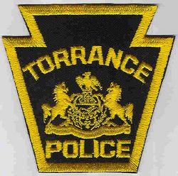 Torrance Police Patch (PA)