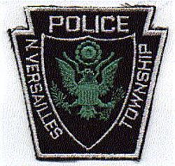 North Versailles Twp Police Patch (black/white) (PA)