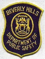 Beverly Hills Dept. of Public Safety Patch (MI)