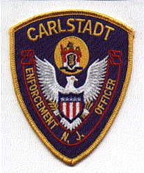 Carlstadt Enforcement Officer Patch (NJ)