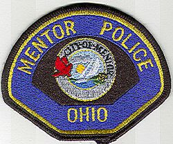Mentor Police Patch (small) (OH)