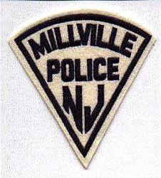 Millville Police Patch (felt) (NJ)