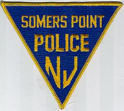 Somers Point Police Patch (NJ)