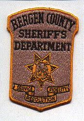 Sheriff: NJ, Bergen Co. Sheriffs Dept. Patch (7 point star)