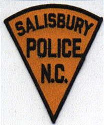 Salisbury Police Patch (black border) (NC)