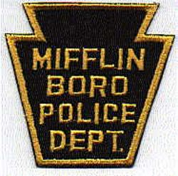 Mifflin Boro Police Patch (PA)