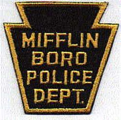 Mifflin Boro Police Patch (PA)