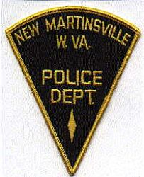 New Martinsville Police Patch (triangular) (WV)