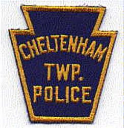 Cheltenham Twp. Police Patch (blue/gold, twill) (PA)