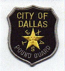 Dallas Pound Guard Patch (TX)