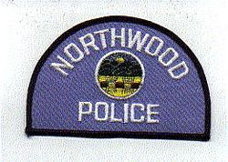 Northwood Police Patch (blue edge) (OH)