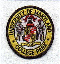 School: MD, Univ. of Maryland College Park Patch (round)