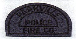 Parkville Police Fire Co. Patch (felt) (MO)