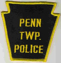 Penn Twp. Police Patch (yellow letters/edge) (PA)