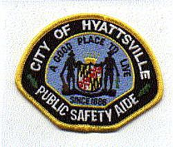 Hyattsville Public Safety Aide Patch (MD)
