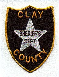 Misc: Clay Co. Sheriffs Dept. Patch (star)