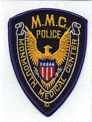 Monmouth Medical Center Police Patch (NJ)