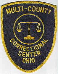 Multi-County Correctional Center Patch (OH)