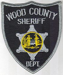 Sheriff: WV. Wood Co. Sheriff Dept. Patch (gray edge)