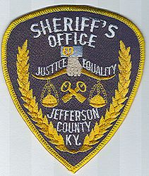 Sheriff: KY, Jefferson Co. Sheriffs Office Patch