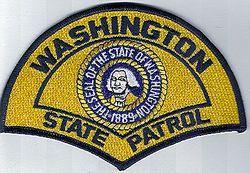 State: WA. State Patrol Patch (lrg)