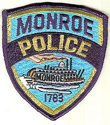 Monroe Police Patch (LA)