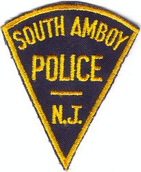 South Amboy Police Patch (old) (NJ)