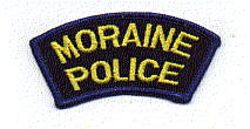 Moraine Police Patch (tab) (OH)